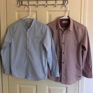 Bundled Zara Boys Collections-Dress shirts